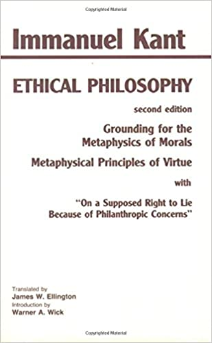 com kant ethical philosophy grounding for the kant ethical philosophy grounding for the metaphysics of morals and metaphysical principles of virtue on a supposed right to lie because of