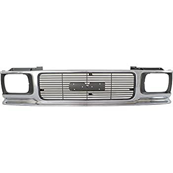 Amazon com: Grille for GMC Jimmy 92-94 Sonoma 91-93 Textured Black