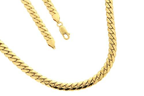 BOB C. Femme  9carats (375/1000)  Or jaune|#Gold      FINENECKLACEBRACELETANKLET