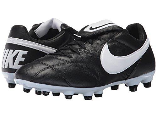 道路発見レイプ(ナイキ) NIKE メンズサッカーシューズ?インドア?靴 Premier II FG Black/White/Black 10.5 (28.5cm) D - Medium