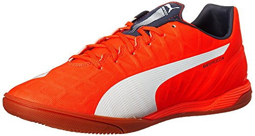 Puma Mens Evospeed 4.4LT Soccer Shoe, Rot, 40.5 D(M) EU/7 D(M) UK