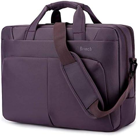 BRINCH Resistant Messenger Briefcase Compartments
