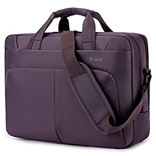 Laptop Bag,BRINCH(TM) 15.6 inch Nylon Waterproof Roomy Stylish Laptop Shoulder Messenger Bag Handle Bag Tablet Briefcase