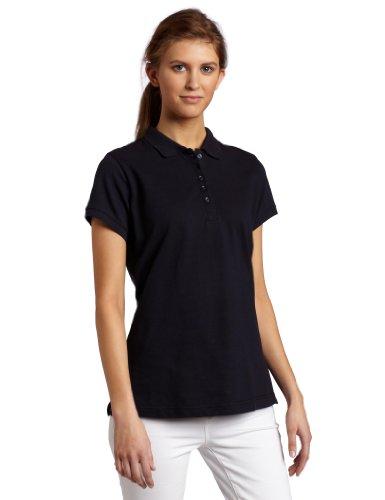 Dickies Women's Pique Polo Shirt, Dark Navy, -
