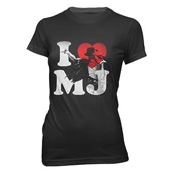 Amazon.com: Bravado Juniors Michael Jackson: I Heart Mj T