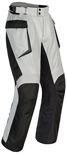 Cortech Men's Sequoia XC Air Adventure Touring Pant (Gray/Black, Small)