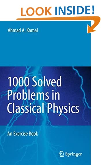 physics problems com 1000 solved problems in classical physics an exercise book