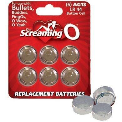 AG13 Batteries 6-Pack ( 3 Pack ) by Sh-yolada