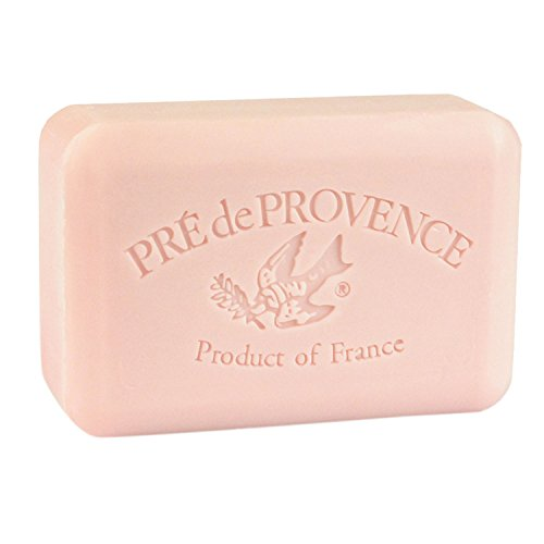 (Pre de Provence French Soap Bar with Shea Butter, 250g - Peony)