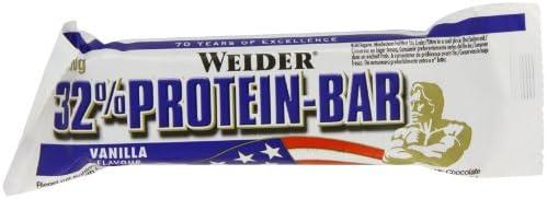 Weider 32% Protein Bar, Vanille, 4 x 60 g (1 x 240 g)