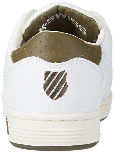 K-Swiss Herren Lozan III TT Sneaker Weiß(WHITE/DARK OLIVE)