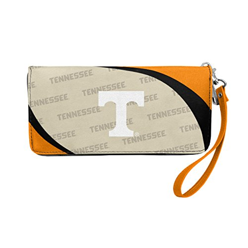 (NCAA Tennessee Volunteers Curve Zip Organizer Wallet)