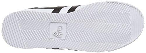 Leather white Sneaker black Basse Donna Gola Harrier Bianco 16Onxa
