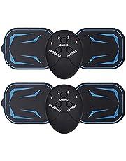 Elektromagnetische beenmassage-apparaat, draagbare nekmassage, massage-pad EMS-armshaper voor rug, wervels, arm, taille, benen en voet (2 stuks)
