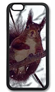 Cute squirre in snow Easter Thanksgiving Masterpiece Limited Design tpu black Case for iphone 6 by Cases & Mousepads wangjiang maoyi by lolosakes