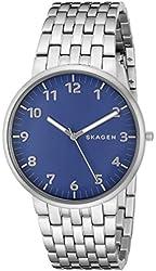 Skagen Men's SKW6201 Anchor Analog Display Analog Quartz Silver Watch