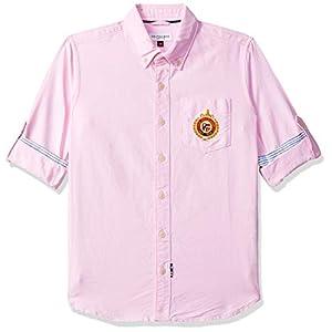 US Polo Kids Boys' Plain Regular Fit Shirt