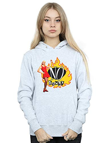 Doubt Flames Mujer Gris Deporte Cult Absolute Capucha No Gwen v1Eqnaw