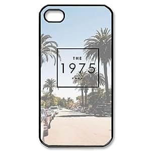WEUKK the 1975 iPhone 4,4S,4G phone case, diy cover case for iPhone 4,4S,4G the 1975, diy the 1975 cell phone case