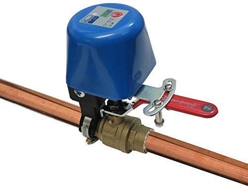 EcoNet Controls EBV105-HCL Z-Wave Water Valve, Smart Home, No Plumbing, 1'' (Large) by EcoNet Controls