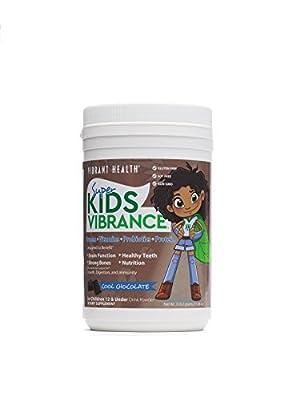 Super Kids Vibrance Chocolate 308.7 grams by Vibrant Health