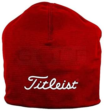 edfaabc0cd496 Titleist Performance red beanie hat  Amazon.co.uk  Sports   Outdoors