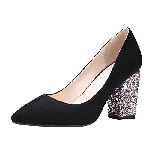 ea6ba34b2421d7 Mee Shoes Damen High Heels Spitz Pailletten Pumps - sommerprogramme.de