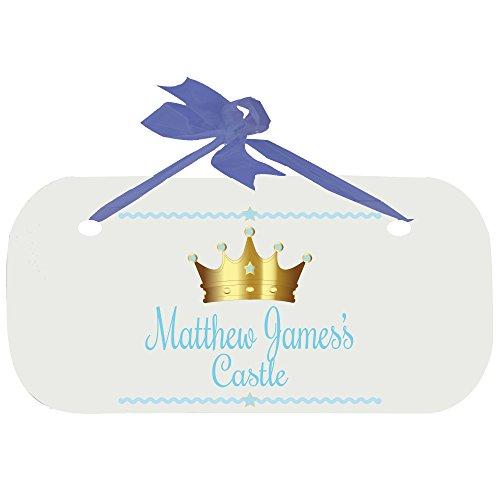 Personalized Prince Door Hanger Plaque