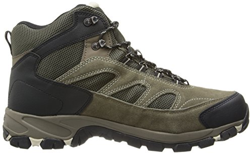 Hi-Tec Men's Logan WP Hiking Boot Smokey Brown/Olive/Snow BgeEg
