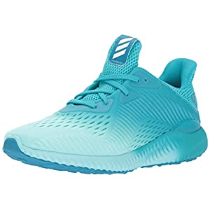 adidas Performance Women's Alphabounce Em w Running Shoe, Energy Blue/Energy Aqua/Mystery Petrol, 8.5 Medium US