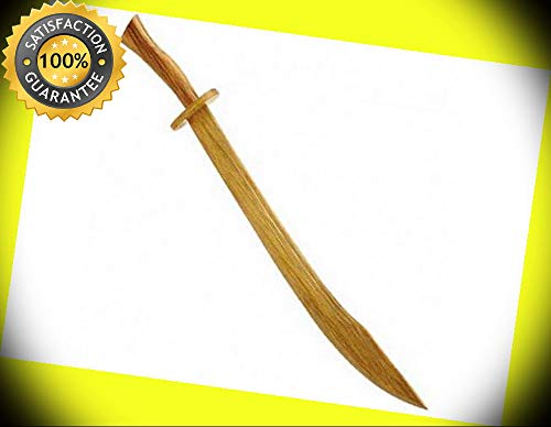 Persian Prince Sword Wooden Royalty Costume Practice Sword perfect for cosplay outdoor -
