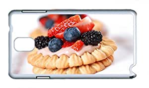 Cute Samsung N9000 case buy Eating sweet biscuits PC White for Samsung Note 3/Samsung N9000