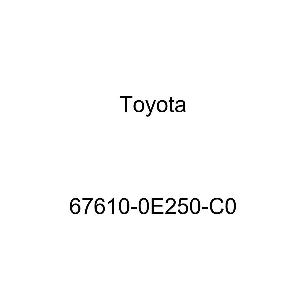 Genuine Toyota 67610-0E250-C0 Door Trim Board
