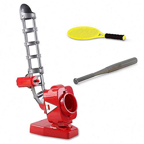 Baseball Pitching Machine Tennis Training Learning Active Toys Outdoor Sports Games Kids Toys