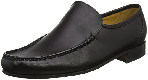 Barker Men Javron Loafers Black (Black Calf)