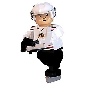 NHL Chicago Blackhawks Marian Hossa GEN 2 Limited Edition Minifigure, Small, Black