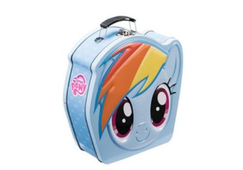 Vintage Tin Lunch Boxes (My Little Pony Shaped Tin Tote 42270)