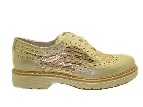 or Chaussures 0873367620 lacets fille Junior ville ivoire Nero Giardini à pour de wvBtTq