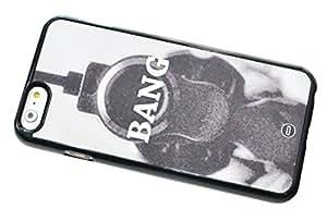 1888998709476 [Global Case] Sello Naval Fuerza Delta Fuerzas Especiales Cañonazo Munición Munición Campo de batalla GIGN RAID MI6 MI5 Fuerza Aerea SAS Revólver Colt 9mm Explosión (TRANSPARENTE FUNDA) Carcasa Protectora Cover Case Absorción Dura Suave para Motorola X2