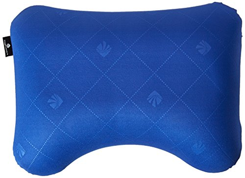 Eagle Creek Exhale Ergo Travel Pillow, Blue Sea, One Size