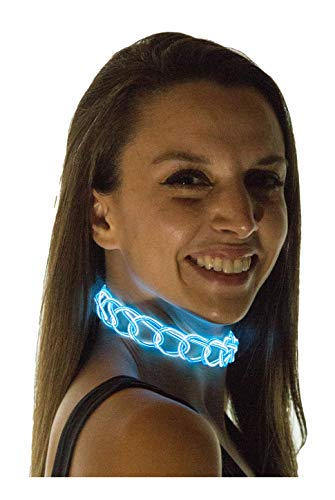 Light Up Pants - Neon Nightlife Women's Light Up Choker,