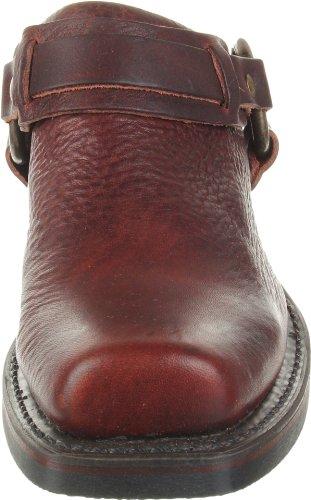 Frye Vrouwen Gordel Harnas Mule Chestnut-70760