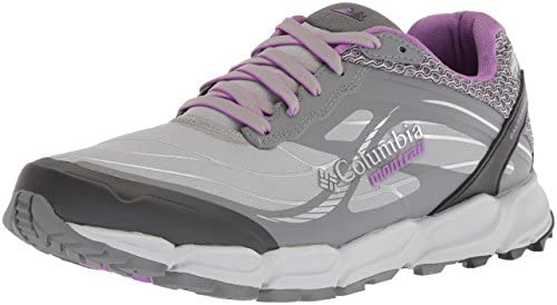 Columbia Women s CALDORADO III Outdry Trail Running Shoe, steam, Crown Jewel,