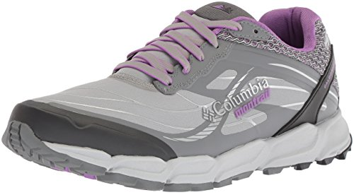 Columbia Montrail Women's Caldorado III Outdry Trail Running Shoe, Steam, Crown Jewel, 8.5 B US Review