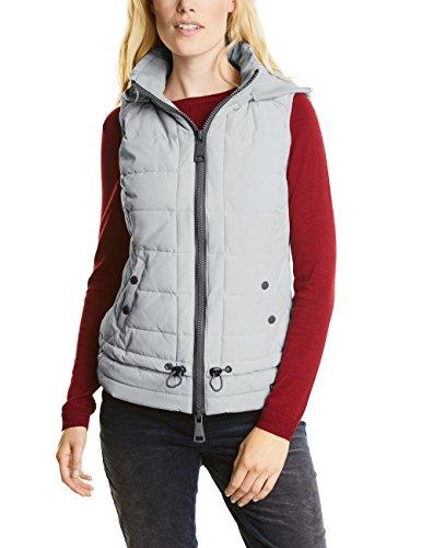 Cecil Layer Sporty Vest, Gilet d'Extrieur Femme Grau (Silver Light Grey 20969)
