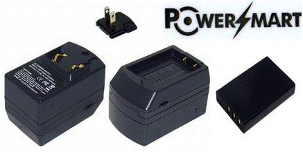 PowerSmart 3.70 V 1800 mAh np-120、px1657バッテリーwith充電器for Toshiba Camileo h30、Camileo x100 B00P1XF9XY