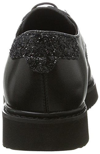 Geox Thymar B - Black/Anthracite (Man-Made) Womens Shoes tRH2cL