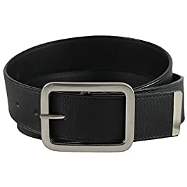The-Vegan-Collection-Towns-Black-Non-Leather-Belt