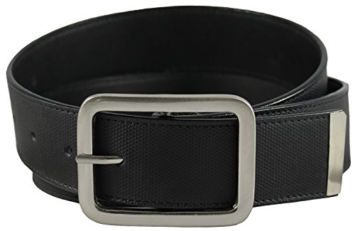 Collection Leather Belt (The Vegan Collection Towns Black Non Leather Belt (32 Inch))