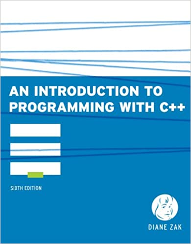 Bundle: An Introduction to Programming With C++, 6th +